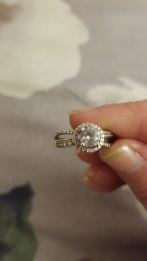 Ladies size 7 sterling silver 925 ring New ,$15 plus shipping. for Sale in Effort, PA