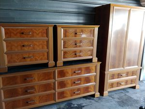 Giorgio Collection Italian Dresser and 2 nights stands for Sale in Lake Elsinore, CA