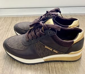 Michael Kors Allie leather trainer sneakers for Sale in Boca Raton, FL
