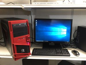 Custom made desktop comes with monitor keyboard and mouse for Sale in Medford, MA
