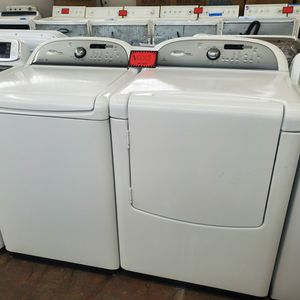 Whirlpool Top Load Washer And Electric Dryer Set Working Perfectly Four Months Warranty for Sale in Baltimore, MD