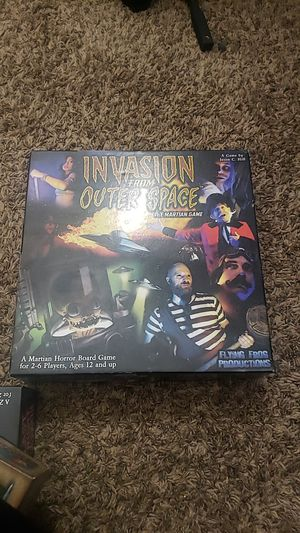 Invasion from outer space board game complete and mint condition.OBO for Sale in Federal Way, WA