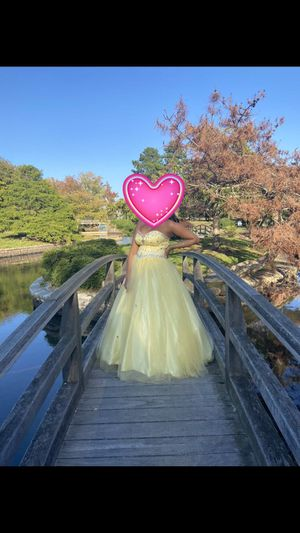 Yellow Quinceanera Dress for Sale in Providence, RI