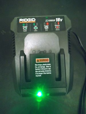 RIDGID: LITHIUM ION CHARGER for Sale in Austin, TX