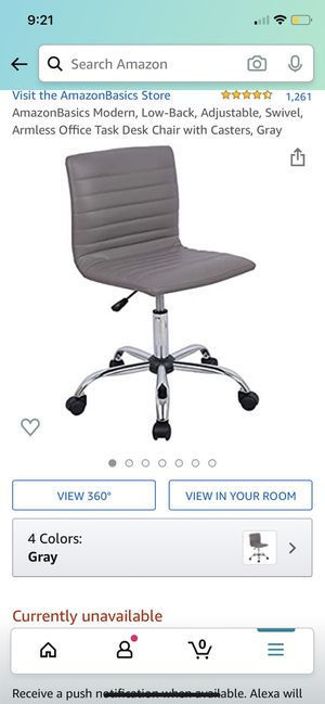 Never used beautiful office chair for Sale in Renton, WA