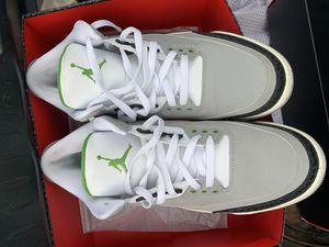 "Men's Jordan Retro 3 ""Chlorophyll"" for Sale in Detroit, MI"