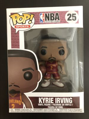 Kyrie Irving Funko Pop | NBA Cleveland Cavaliers Collectible Toy for Sale in Roseville, CA