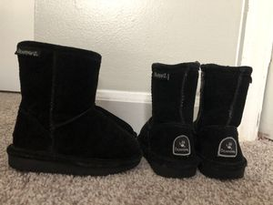 Toddler girls Bearpaw winter boots- Size 7 toddler for Sale in Garner, NC