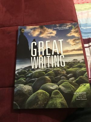 NATIONAL GEOGRAPHIC GREAT WRITING 3 for Sale in Sugar Land, TX