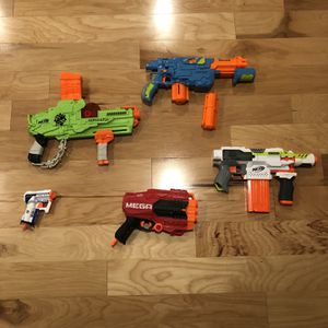 Nerf Gun Bundle for Sale in Westford, MA