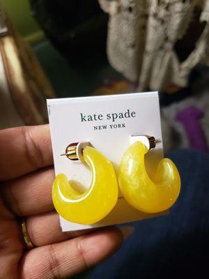 Kate spade yellow earrings for Sale in McKinney, TX