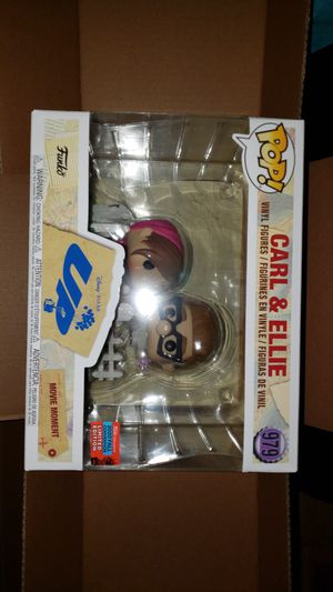 Disney Funko Pop! Up Carl & Ellie New York Comic Con Exclusive Pixar for Sale in New York, NY