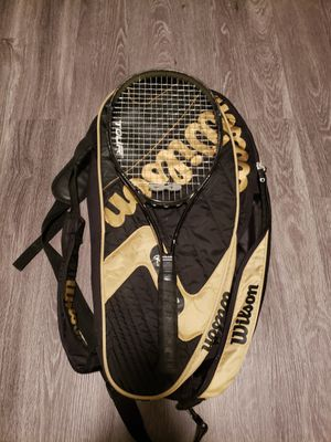 Tennis racket and bag for Sale in Cary, NC