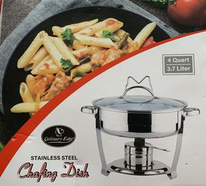 Culinary Edge Stainless Steal Chafing Dish for Sale in Queens, NY