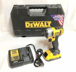 DeWalt DCF885 Cordless Impact Driver Drill battery charger and box for Sale in Riverdale, GA