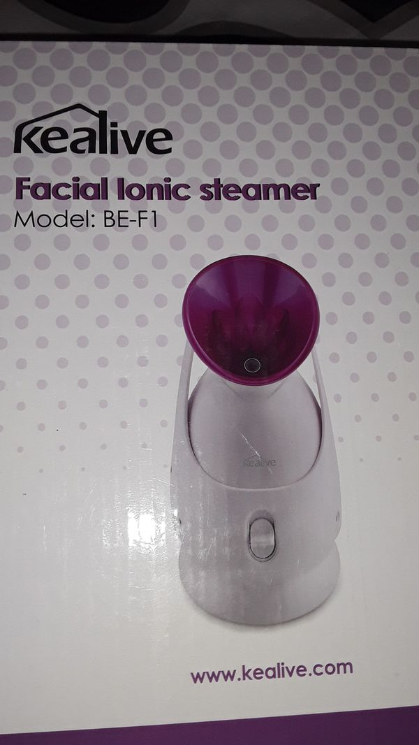 Facial ionic steamer.