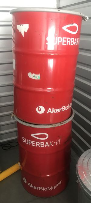 Food grade metal barrels for Sale in San Marcos, CA