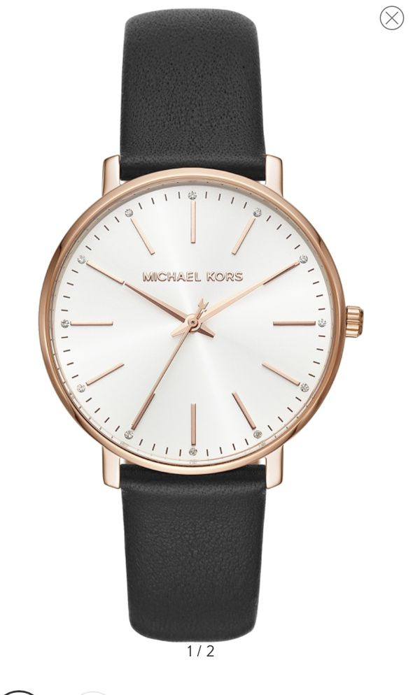 Michael kors red band watch