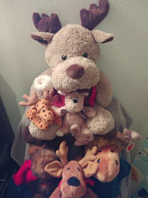 Moose plushies. for Sale in Chandler, AZ