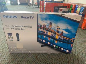 """New Philips ROKU 32"""" TV! Open box and warranty ACF for Sale in Cypress, CA"""