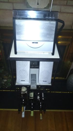 Panasonic stereo system SA-EN7 MP3/CD-R/RW wine not included for Sale in Fairfax, VA