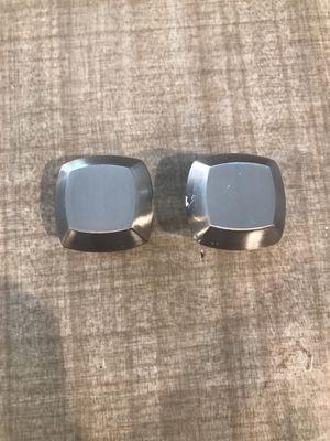 5 square brushed nickel knob for Sale in La Mesa, CA