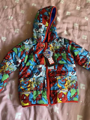 Toddlers Spider-Man jacket size 3T for Sale in Orange, CA