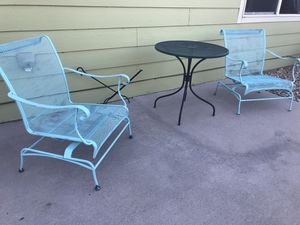Wrought Iron Table & Chairs for Sale in Pueblo, CO