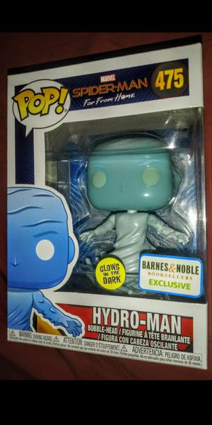 """Spider-Man: Far From Home """"Hydro-Man"""" Barnes & Noble Exclusive Glow in the Dark Funko Pop for Sale in Los Angeles, CA"""