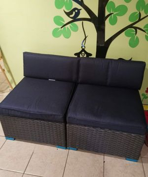 2 Piece New Patio Sectional Furniture Outdoor Sofa Set for Sale in Philadelphia, PA