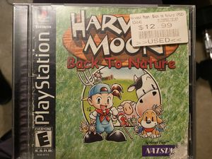 PS1 - Harvest Moon and Final Fantasy VIII for Sale in Federal Way, WA