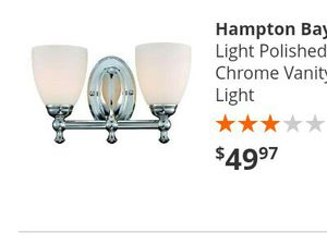Bathroom light fixture for Sale in Moreno Valley, CA
