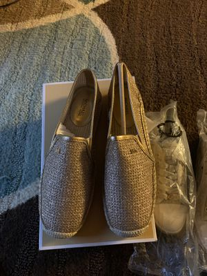 Brand new size 8 Michael kors slip on shoes for Sale in Oceanside, CA