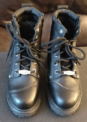 Orange County Choppers Leather Motorcycle Boots men's size 7 women's size 8.5 for Sale in TN OF TONA, NY