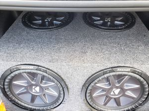 Speakers and bass amp for Sale in Winter Haven, FL