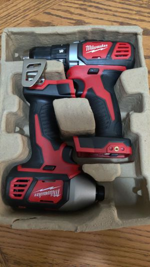 Milwaukee M18 18-Volt drill combo Tool-Only for Sale in Sunrise, FL