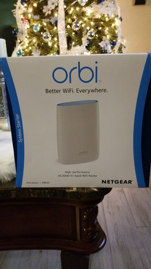 Orbi AC 3000 Tri-band WiFi Router for Sale in Jacksonville, FL