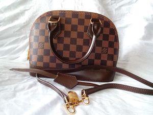 LOUIS VUITTON ALMA DAMIER EBENE MINI SHOULDER STRAP BAG N53152 for Sale in Houston, TX