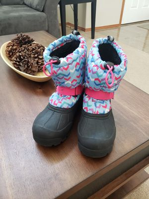 Girls snow boots for Sale in Buckley, WA