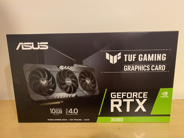 ASUS 3080 RTX Graphics Card