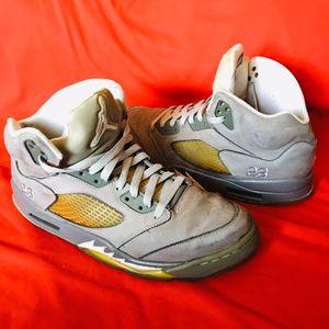 Men's Jordan 5 Retro Wolf Grey (11) for Sale in Casa Grande, AZ