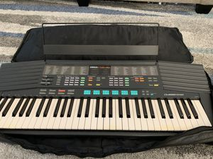 Yamaha PSR-48 61 Key Synthesizer Keyboard W/Gigbag Case And Sheet Music Stand for Sale in Henderson, NV