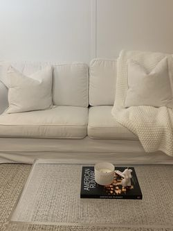 White slipcovered couch for Sale in New York,  NY