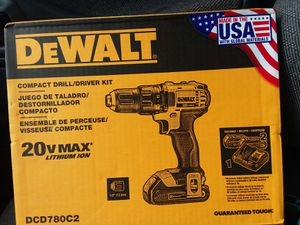 Dewalt 2ov compact 2 speed drill for Sale in Biloxi, MS