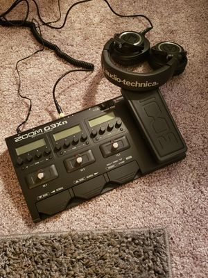 Zoom G3Xn MultiEffects Processor for Guitar for Sale in Renton, WA