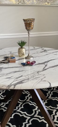 Marble Dining Table Only Without Chairs for Sale in Herndon,  VA