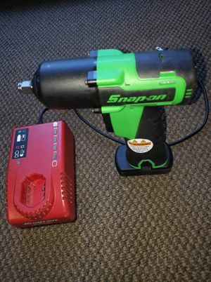 "Snap-on usa tools 14.4 V 3/8"" Drive MicroLithium Cordless Impact Wrench Kit (like new) ask $279 for Sale in Pomona, CA"