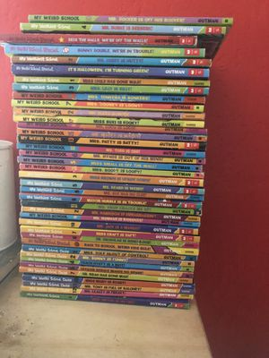 My weird school 39 kids books elementary for Sale in Lincoln Acres, CA