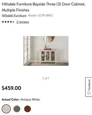 3 Door Cabinet‼️‼️ for Sale in Houston, TX