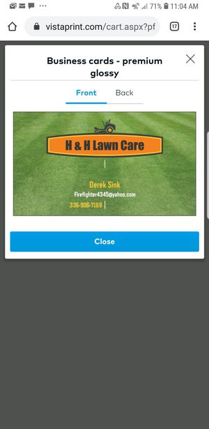 H & H Lawn care for Sale in Sophia, NC